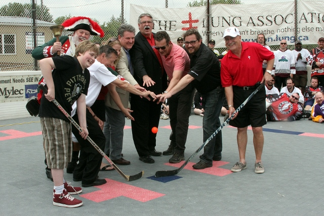 Walter Gretzky Street Hockey Tournament